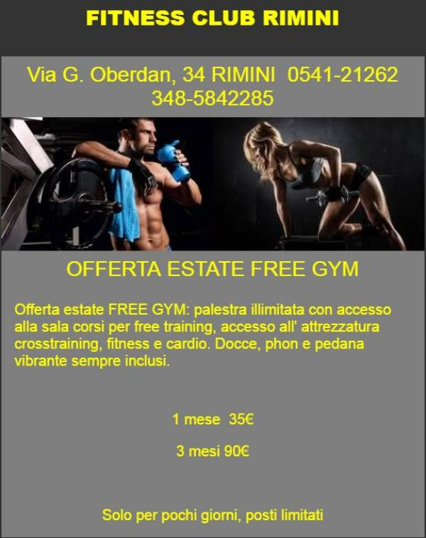 Estate free gym