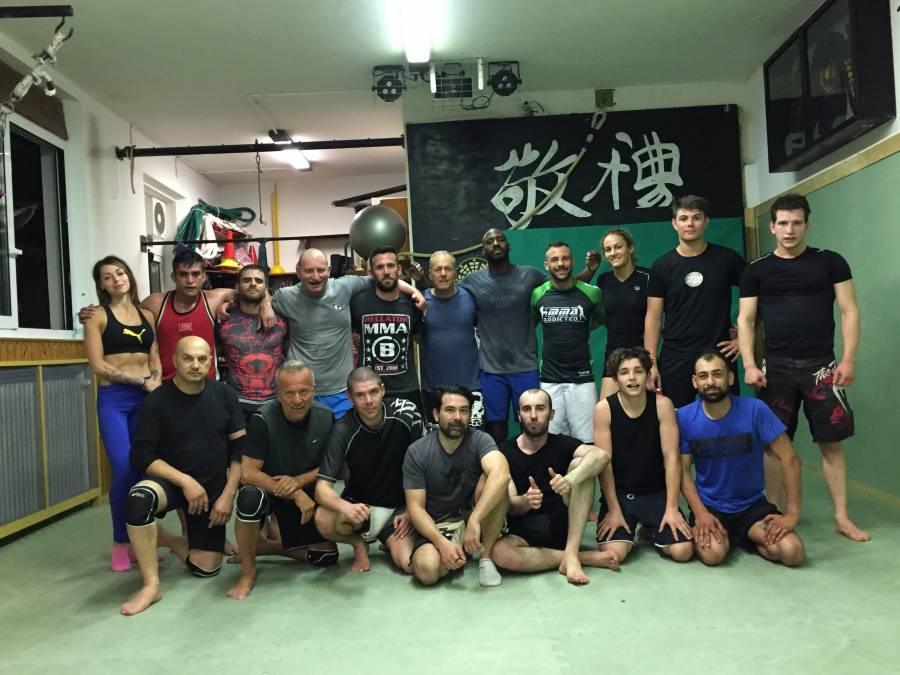 MMA Rimini -Stage Grappling con Jason Manly-Maggio 2017