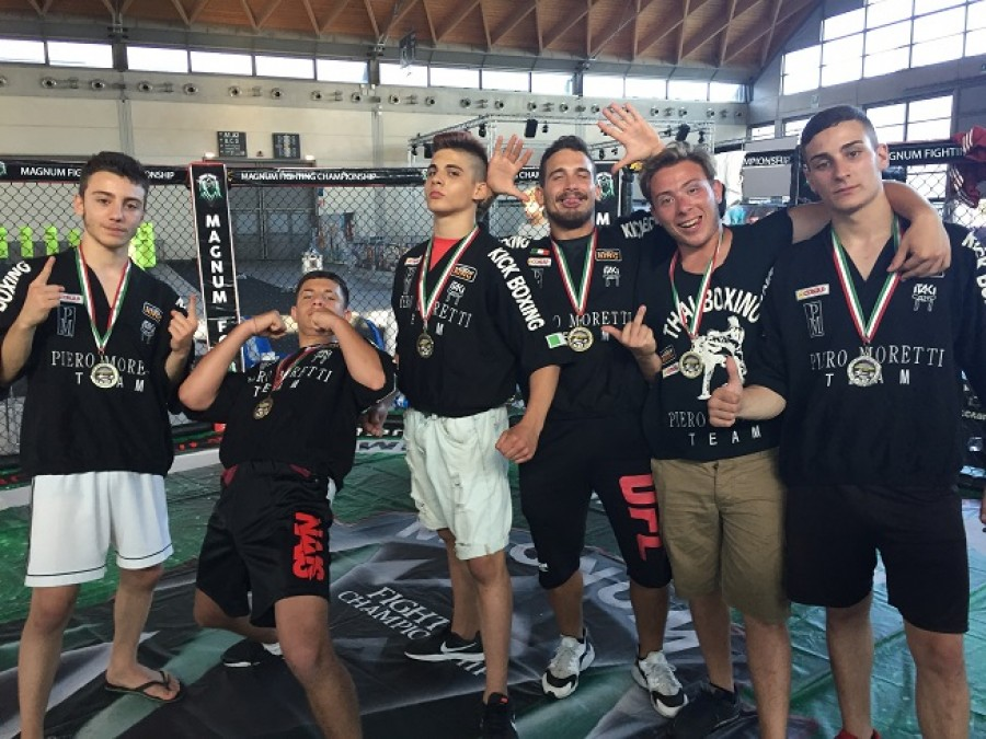 Gara fiera fitness Kombat League -Maggio 2018